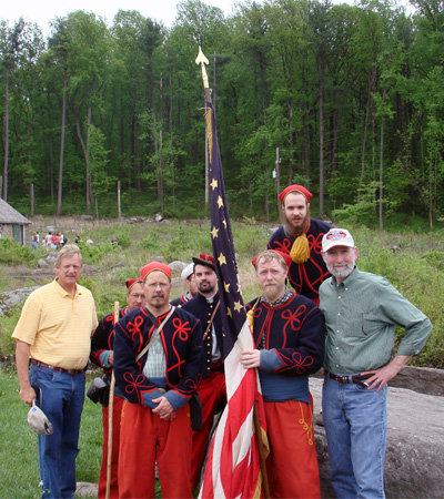 David, Zouaves, and Friend